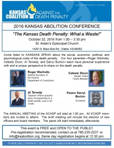 Register Today for 2016 Annual Abolition Conference!